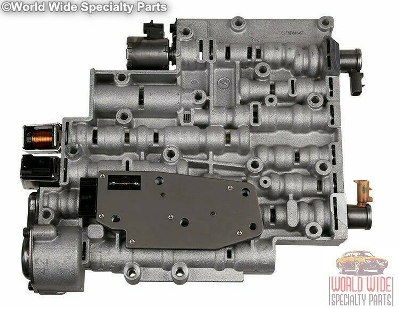 GM 4L60E, 4L65E Valve Body 2001-2002 w/ Transgo 4L60E-HD2 Kit Installed, Tested