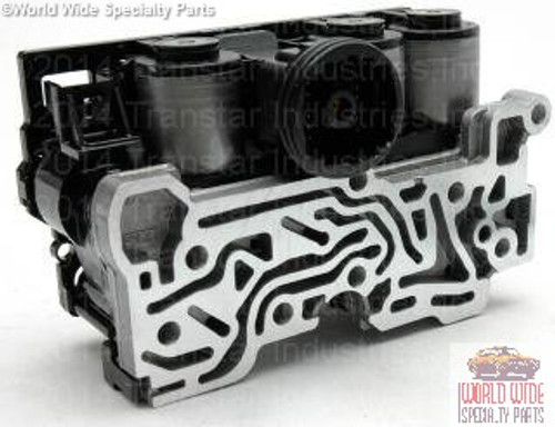 5R55S, 5R55W Solenoid Block, NEW OEM, Includes Filter Screen/Gasket, 2004-UP