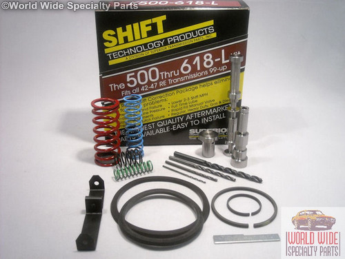 Chrysler, Dodge A500, A518, A618 Transmission Shift Correction Kit 1999-UP