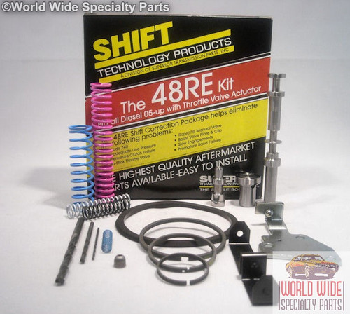 Chrysler Dodge 48RE Transmission Shift Correction Kit 2005-UP