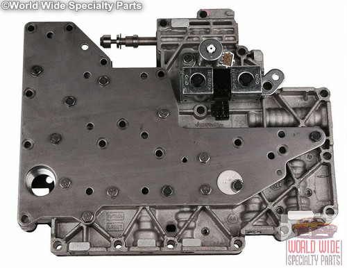 Ford 4R70W Valve Body 1996-1997, Wired Harness, F6 Casting#