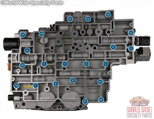 GM 4L80E Valve Body 2004-UP