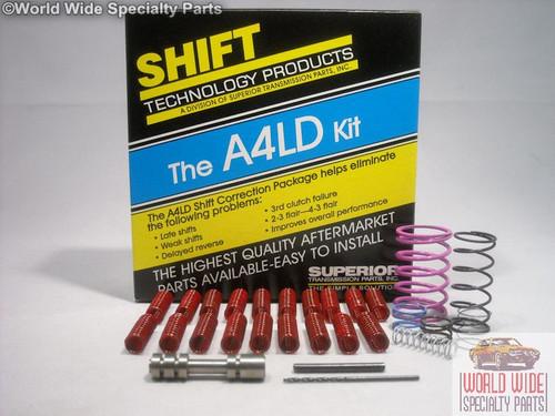 Superior Ford A4LD Transmission Shift Correction Kit 1985-1995