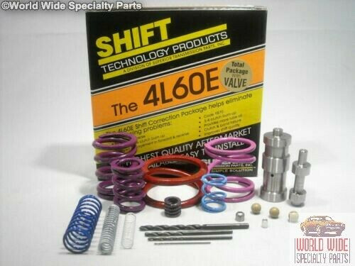 GM 4L60E-E-V Transmission Shift Correction Kit 1993-1997 w/ .474 HD Boost Valve