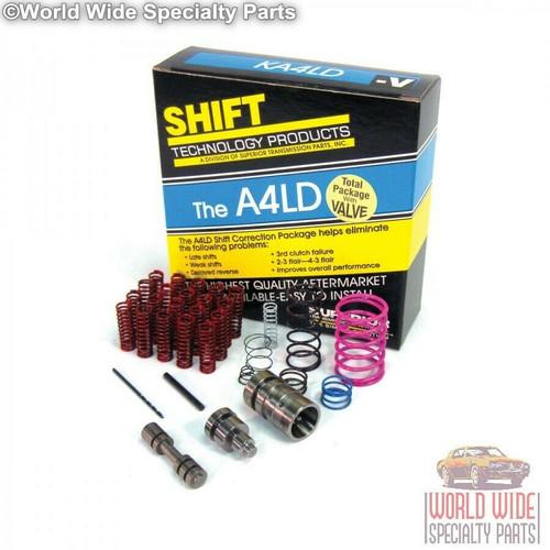 Superior Ford A4LD Transmission Shift Correction Kit with Boost Valve, KA4LD-V