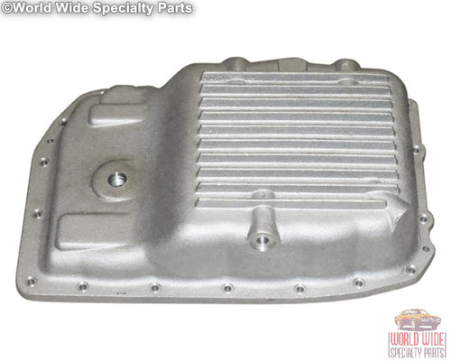 GM 6L80, 6L80E, Heavy Duty Stock Capacity Transmission Pan, Cast Aluminum