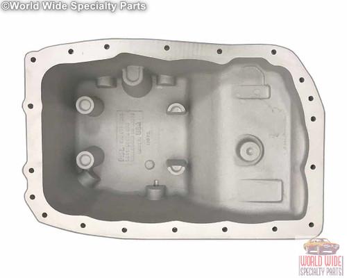 GM 6L80 Deep Transmission Pan, 2 Quarts Extra Capacity, 2007-UP - Cast Aluminum
