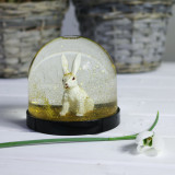 Snow Globe, Glitter Rabbit