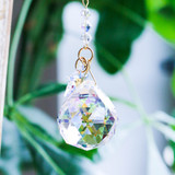 Crystal Stars and Drop Suncatcher
