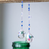 Moody blues crystal suncatcher