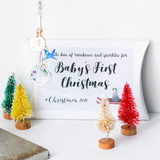 Baby's First Christmas Crystal Hanger