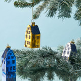Canal house ornaments, set of three