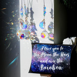 I love you to the stars, Decoration and sun catcher