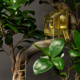 Tiny Treehouse for your plant