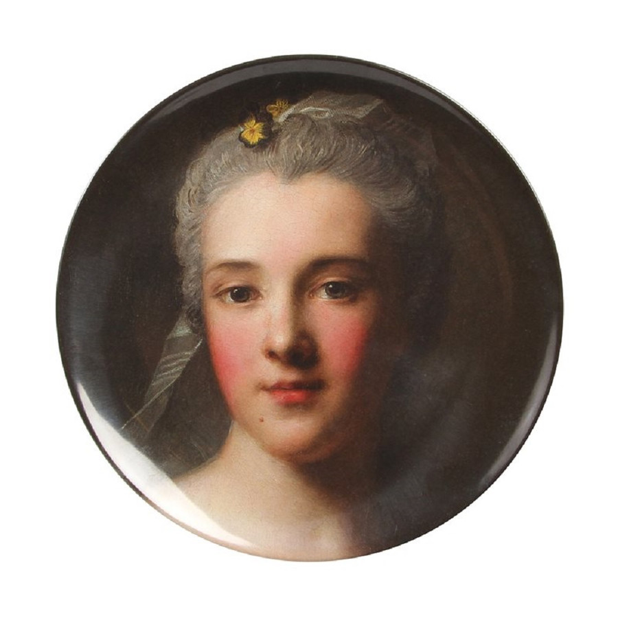 Melamine Plate, National Gallery Portraits Nattier