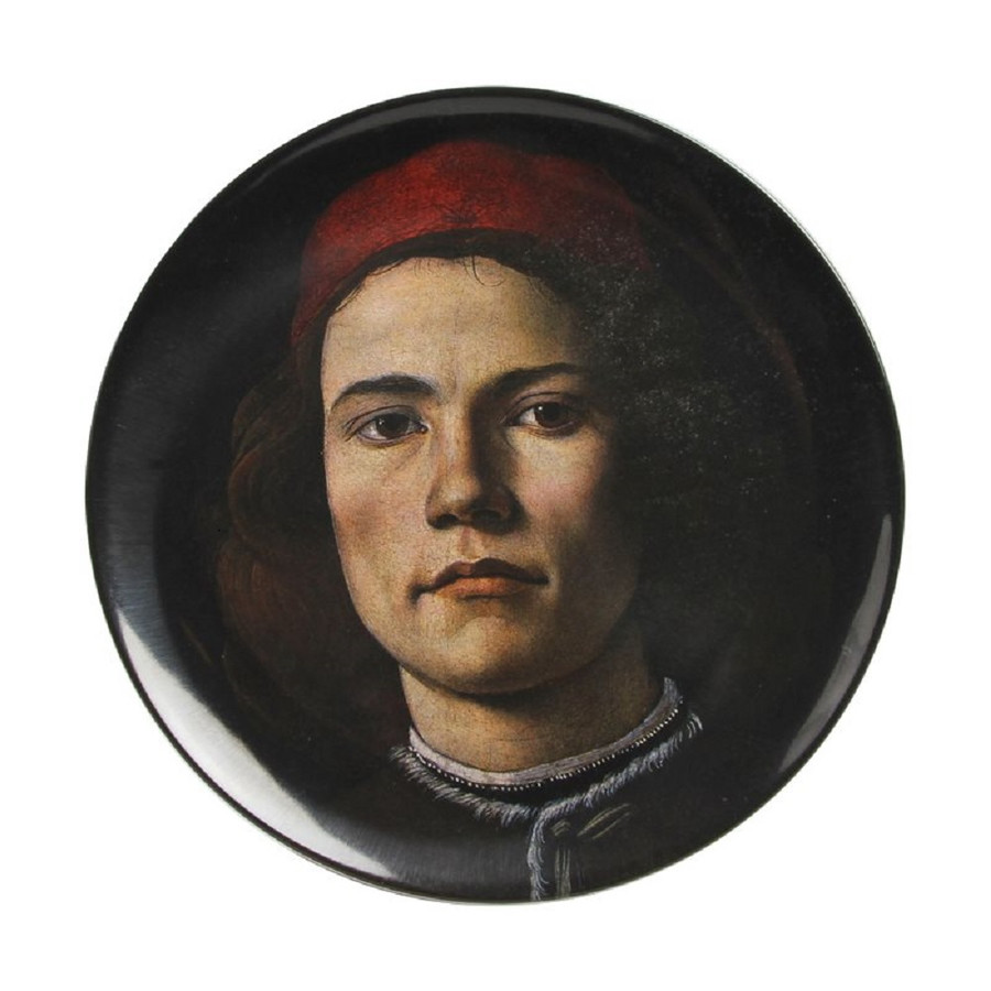 Melamine Plate, National Gallery Portraits Botticelli