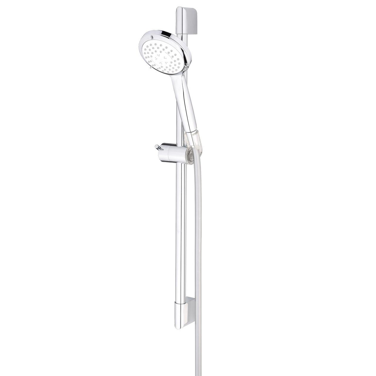 Massage Shower Head Kit 3 Spray Orta No 6 With Slide Bar Delvac