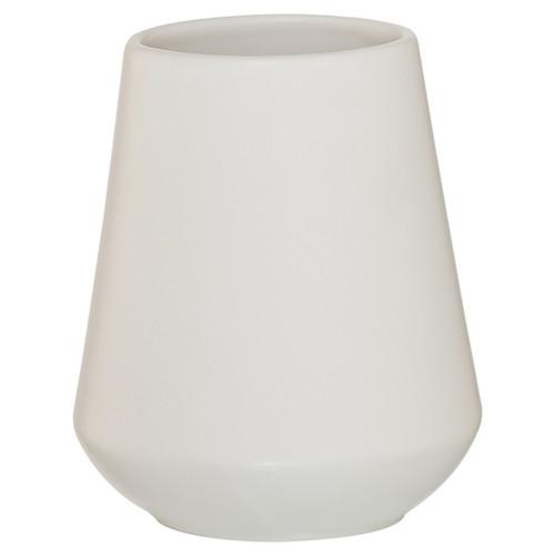 3 Piece Bathroom Accessories Set Sealskin Conical Chrome White Porcelain