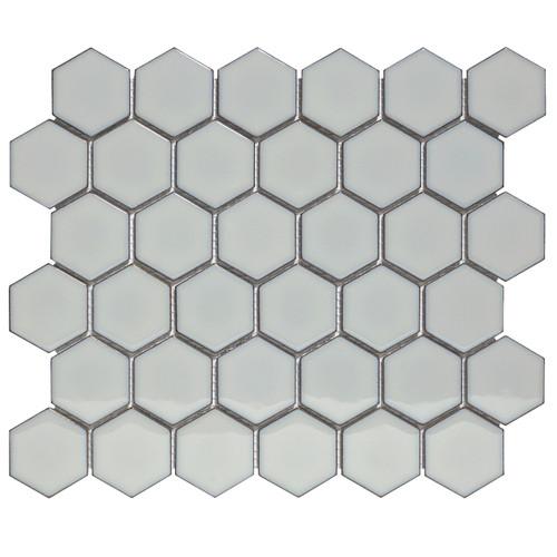 Glazed Grey Mosaic Tile Sample