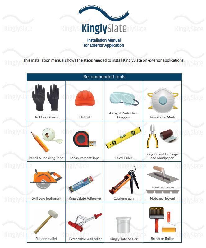 recommened-tools-installation-kinglyslate-exterior.jpg