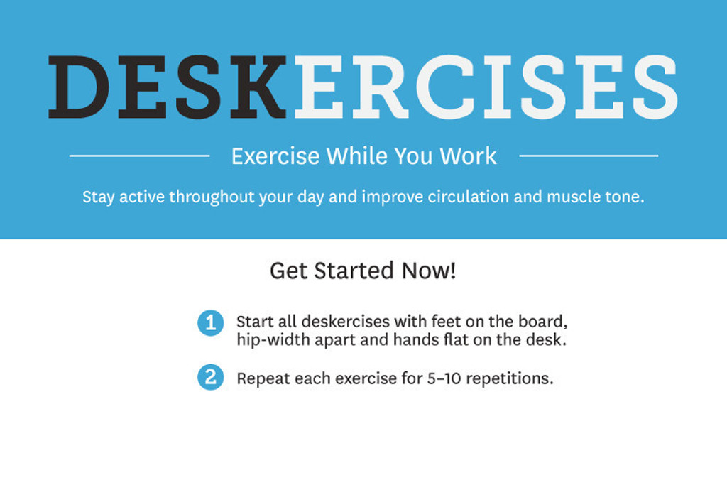 Deskercises: Exercise While You Work