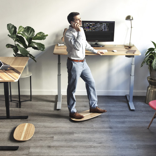 "Surfer Electric Standing Desk – 60"" by Wurf"