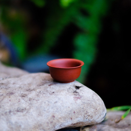 Red Yixing Clay Cup