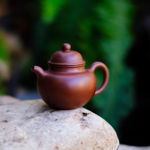 Bouncing Ball Yixing Purple Sand Teapot 掇球宜興紫砂茶壺