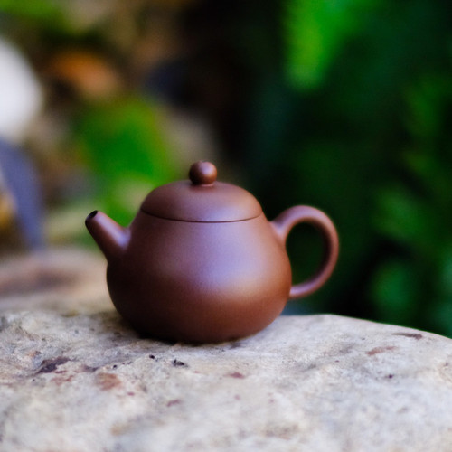 Pear Yixing Aged Purple Sand Teapot