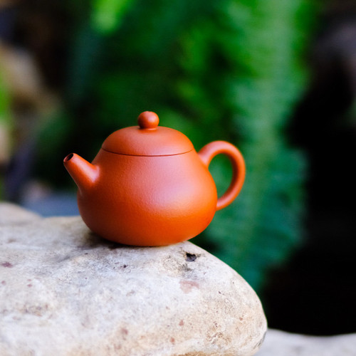 Pear Yixing Crimson Clay Teapot 梨宜興朱泥茶壺