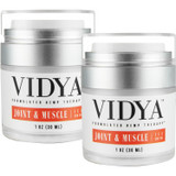 VIDYA ICE Cooling Muscle Melt Gel + CBD (600mg) 2 Pack