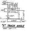 flat track F track angle window sill ground