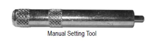 Manual Setting Tool for Machine Set Screw Anchors