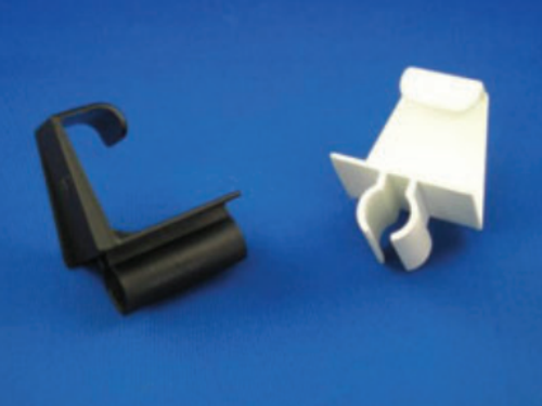 Holdback clips for accordion storm shutters, Holdback clips for accordion shutters, Hold back clips for accordion storm shutters, accordion shutter clips