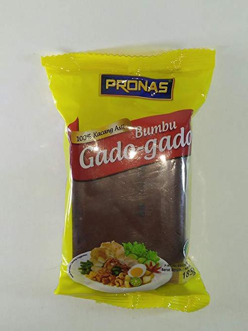 Pronas Bumbu Gado-gado (Peanut Sauce for Mixed Vegetables), 185 Gram