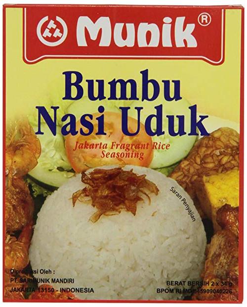 Munik Nasi Uduk Jakarta Fragrant Rice, 100-Gram