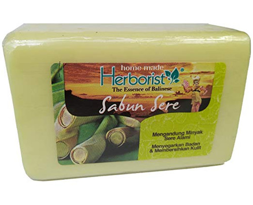 Herborist Sabun Sere - Lemongrass Bar Soap, 160 Gram