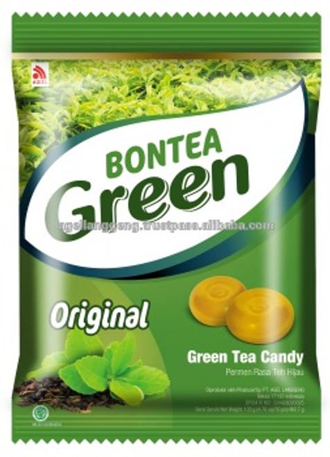 Bontea Green Tea Candy Original, 144 Gram