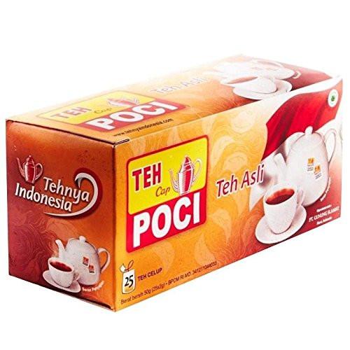Cap Poci Teh Asli - Black Tea 25-ct, 50 Gram