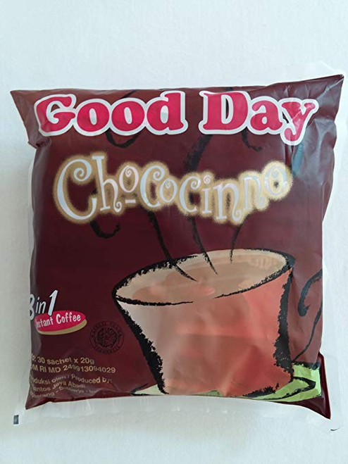 Good Day Chococinno Coffee 600 Gram (21.16 Oz) Instant Chocolate F