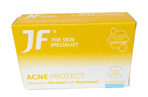JF The Skin Specialist Acne Protect Bar Soap, 90 Gram