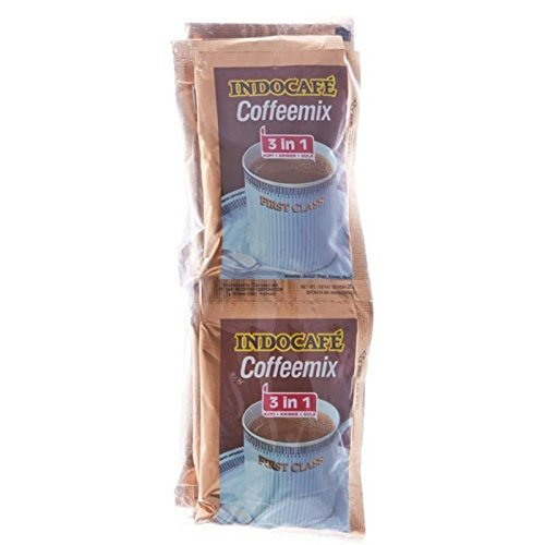 Indocafe Coffeemix 3 in 1 First Class, 20 Gram (10 Sachets)