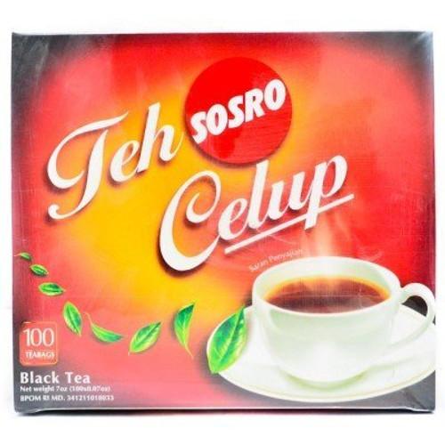 Sosro Teh Celup Black Tea 100-ct, 200 Gram
