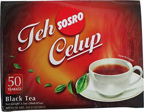 Sosro Teh Celup Black Tea 50-ct, 3.5 Oz