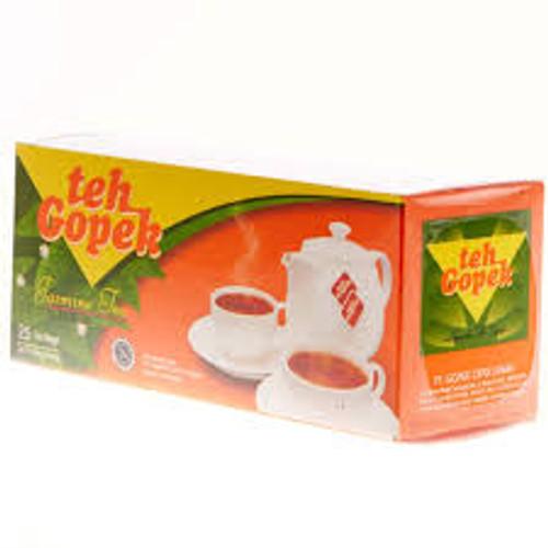 Teh Gopek Jasmine Tea 25-ct @ 2gr Foil Wrap, 1.76 Oz