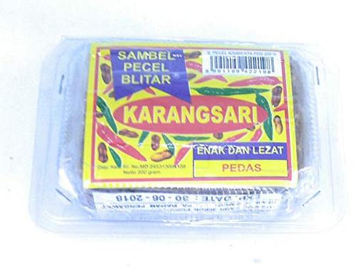 Karangsari Sambel Pecel Blitar - Pedas, 200 Gram