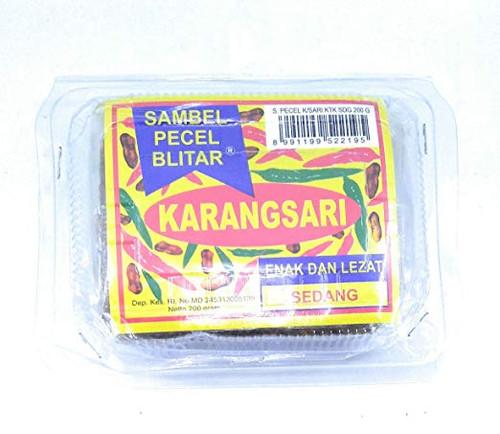 Karangsari Sambel Pecel Blitar - Sedang, 200 Gram