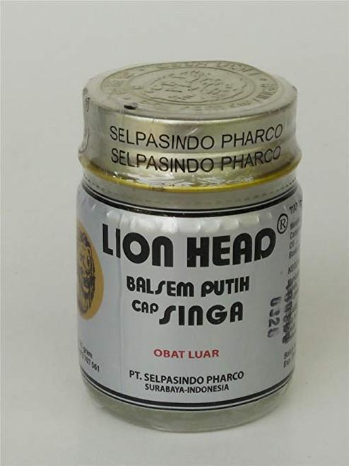 Lion Head White Balm Balsem Putih Cap Singa, 13 Gram
