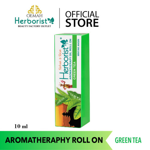 Herborist Aromatherapy Roll on Oil - Green Tea, 10 ml
