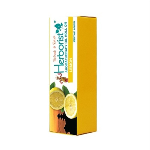 Herborist Aromatherapy Roll on Oil - Lemon, 10 ml